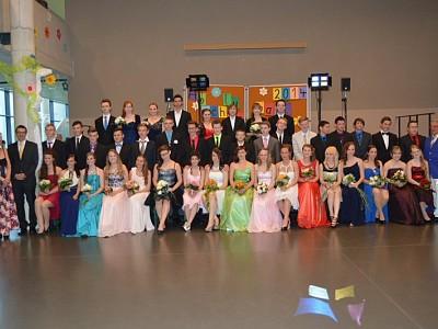 Tanzkursabschlussball 2014