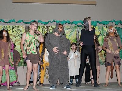 Dschungelfeeling zum Sommerfest
