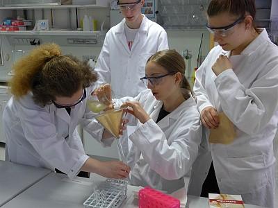 Biochemisches Praktikum an der TUM Straubing