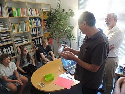 Klasse 7aSII besuchte das Nierenzentrum